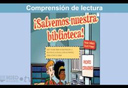 3rd-5th  Reading/Writing  (Spanish) – Salvemos la biblioteca