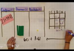 K-2 Math (Spanish) – Modelando sumas de 2-dígitos