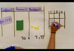 K-2 Math (Spanish) – Modelando restas de 2-dígitos