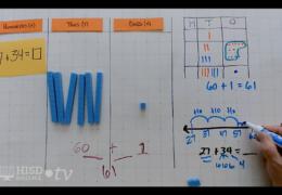K-2 Math – Modeling 2-digit addition