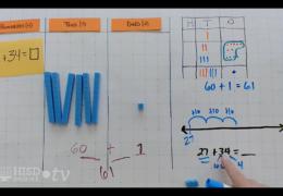 K-2 Math – Modeling 2-digit subtraction