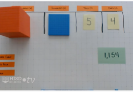 K-2 Math – Representing numbers