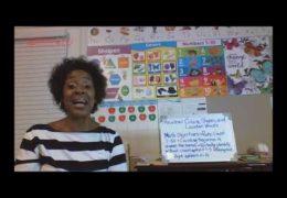 Pre K Math Counting Skills Week of September 21 Misty Thomas TRT 30 28