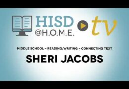 MS Reading Writing WEEK OF NOV 2 Connecting Text Sheri Jacobs TRT25 02