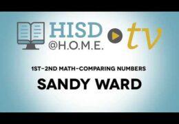 1st 2nd Math WEEK OF NOV 2 Comparing Numbers Sandy Ward TRT29 19