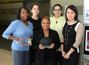 HISD' s Supplier Diversity team recently was honored for its M/WBE program.