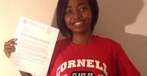 College acceptance letters start arriving for members of Class of