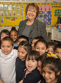 Henderson ES principal Herlinda Garcia