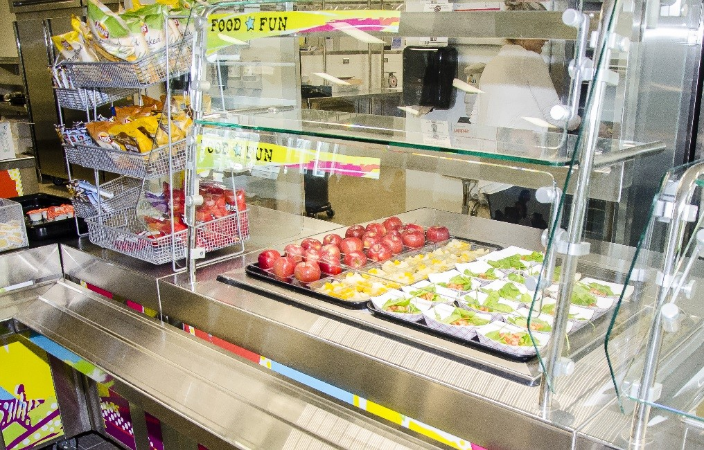 School Cafeteria Kitchen ~ Food services news page