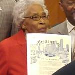 99-year-old Maxine Williams, Yates alumna
