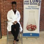 Jane Long Academy senior Sheighlah McManus