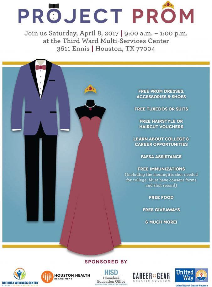 27cfe24f5f The Houston Independent School District Homeless Education Office will  provide free dresses