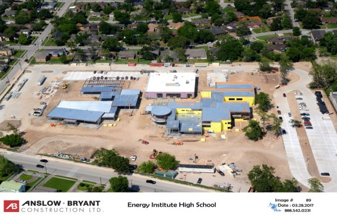 New Energy Institute HS construction 40 percent complete | News Blog