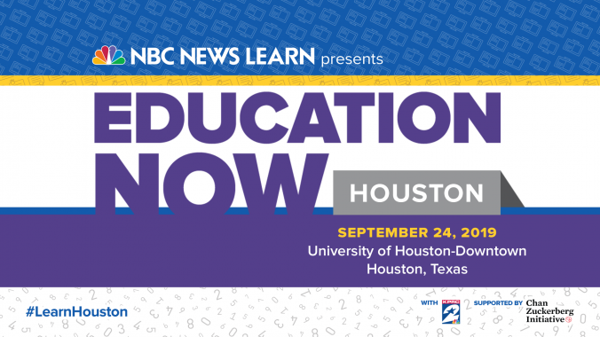 Join Hisd For Nbc News Learn S Live Education Summit On Sept 24 News Blog